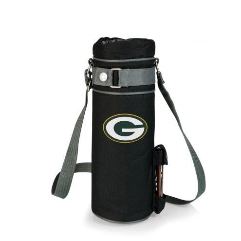 Green Bay Packers Black Wine Sack