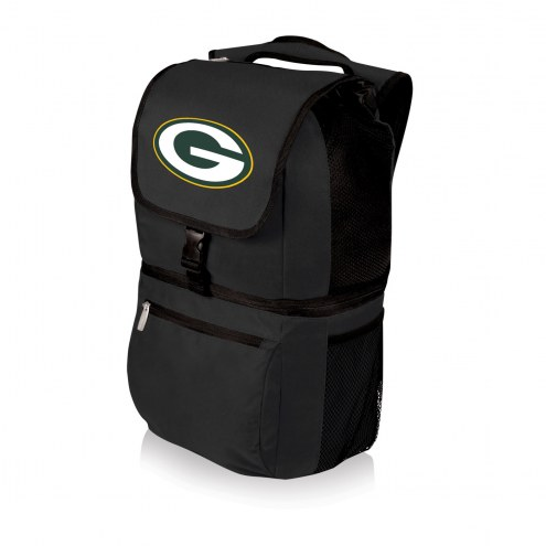 Green Bay Packers Black Zuma Cooler Backpack