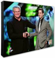 Green Bay Packers Brett Favre & Aaron Rodgers Photo