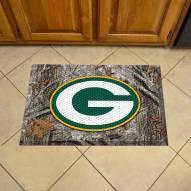 Green Bay Packers Camo Scraper Door Mat