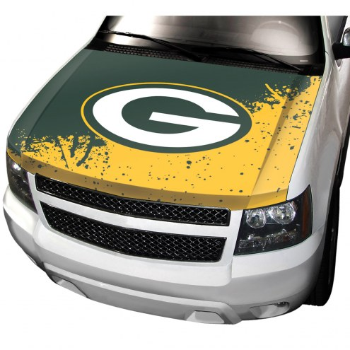Green Bay Packers Car Hood Cover