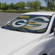 Green Bay Packers Car Sun Shade