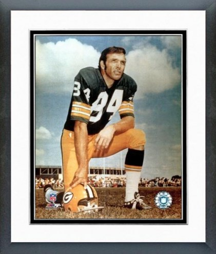 Green Bay Packers Carroll Dale Posed Framed Photo