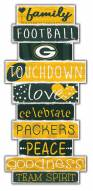 Green Bay Packers Celebrations Stack Sign