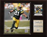 """Green Bay Packers Charles Woodson 12 x 15"""" Player Plaque"""