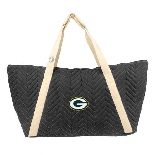 Green Bay Packers Chevron Stitch Weekender Bag