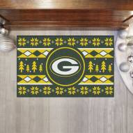 Green Bay Packers Christmas Sweater Starter Rug