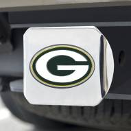 Green Bay Packers Chrome Color Hitch Cover