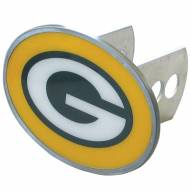 Green Bay Packers Class II and III Oval Metal Hitch Cover