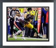 Green Bay Packers Clay Matthews Action Framed Photo