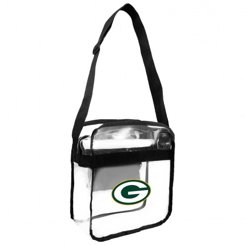 Green Bay Packers Clear Crossbody Carry-All Bag