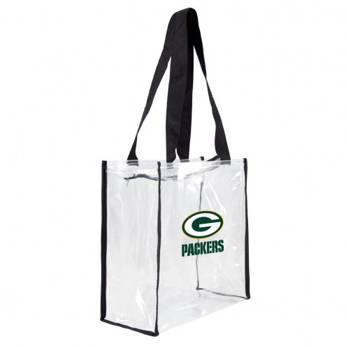 Green Bay Packers Clear Square Stadium Tote