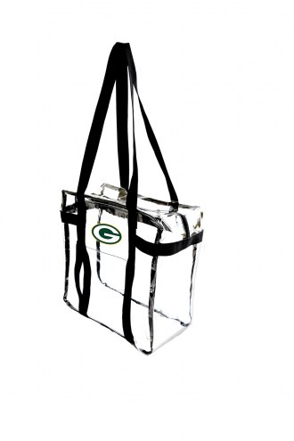 Green Bay Packers Clear Tote Along