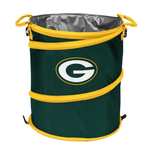 Green Bay Packers Collapsible Laundry Hamper