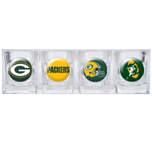 Green Bay Packers Collector's Shot Glass Set