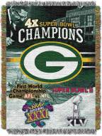 Green Bay Packers Commemorative Throw Blanket
