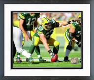 Green Bay Packers Corey Linsley Action Framed Photo