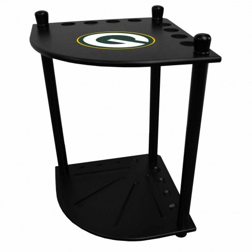 Green Bay Packers Corner Pool Cue Rack