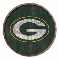 """Green Bay Packers Cracked Color 16"""" Barrel Top"""