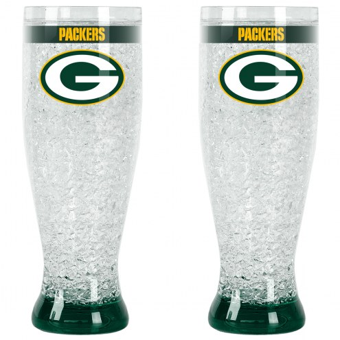 Green Bay Packers Crystal Pilsner Glass