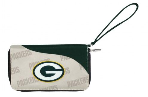 Green Bay Packers Curve Zip Wallet
