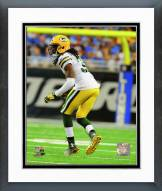 Green Bay Packers Davon House Action Framed Photo