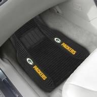 Green Bay Packers Deluxe Car Floor Mat Set