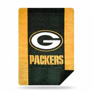Green Bay Packers Denali Sliver Knit Throw Blanket