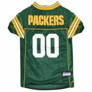 Green Bay Packers Dog Football Jersey