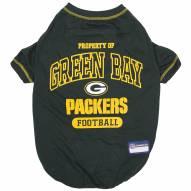 Green Bay Packers Dog Tee Shirt