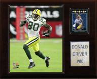 """Green Bay Packers Donald Driver 12 x 15"""" Player Plaque"""