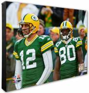 Green Bay Packers Donald Driver & Aaron Rodgers Photo