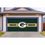 Green Bay Packers Double Garage Door Cover