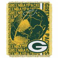 Green Bay Packers Double Play Jacquard Throw Blanket