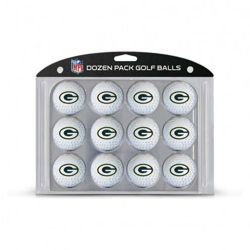 Green Bay Packers Dozen Golf Balls