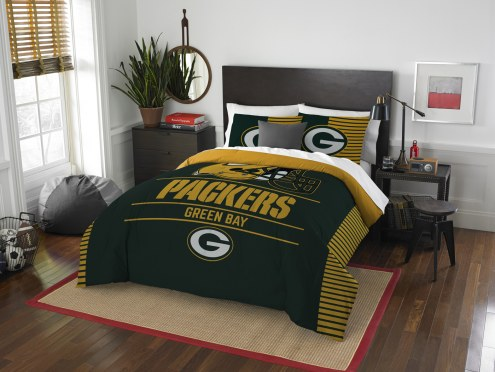 Green Bay Packers Draft Full/Queen Comforter Set