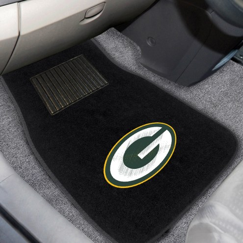 Green Bay Packers Embroidered Car Mats