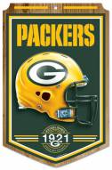 """Green Bay Packers """"Established"""" Wood Sign"""