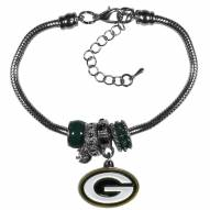 Green Bay Packers Euro Bead Bracelet