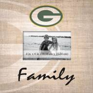 Green Bay Packers Family Picture Frame