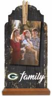 Green Bay Packers Family Tabletop Clothespin Picture Holder