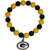 Green Bay Packers Fan Bead Bracelet