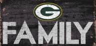 Green Bay Packers Family Wood Sign