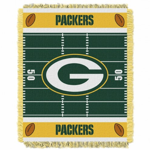 Green Bay Packers Field Baby Blanket