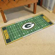 Green Bay Packers Football Field Runner Rug