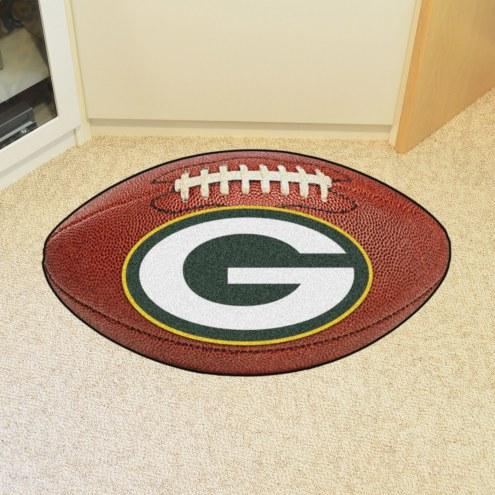 Green Bay Packers Football Floor Mat
