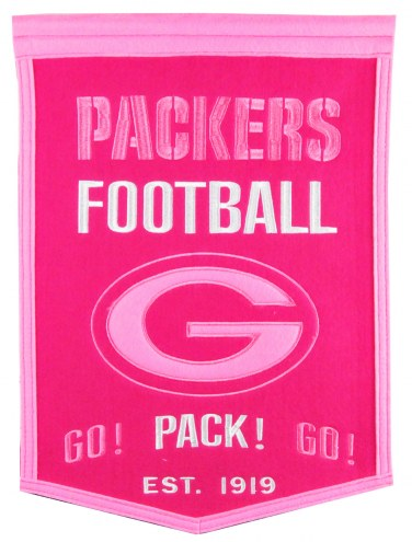 Green Bay Packers Football for Her Banner