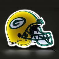 Green Bay Packers Football Helmet LED Lamp