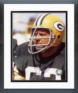 Green Bay Packers Fuzzy Thurston On sidelines Framed Photo