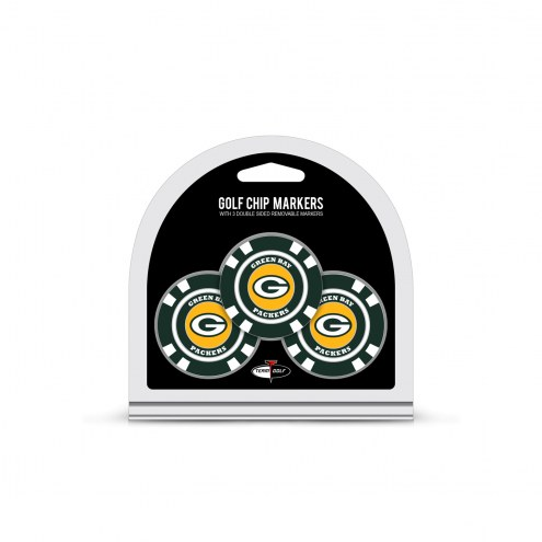 Green Bay Packers Golf Chip Ball Markers